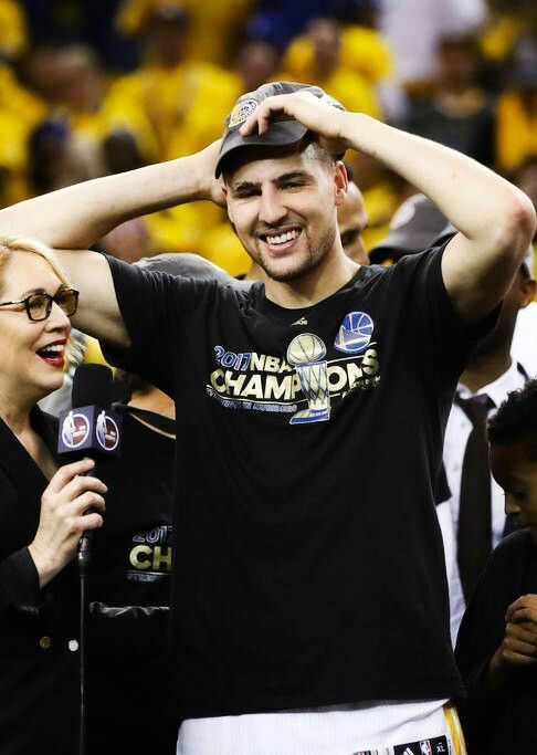 Hey, Klay Thompson, How Does It Feel To Be The 2017 NBA Champions?