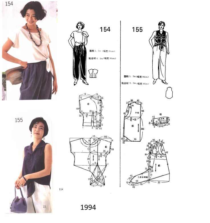 Pin By Emma Reeves On Free Japanese Sewing Patterns Pinterest
