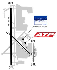 Diagram of KPAE (Snohomish County Airport (Paine Field))