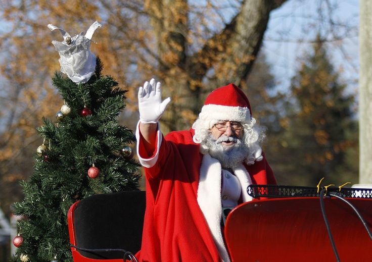 Where is Santa Claus? Become trackers that follow Santa Claus
