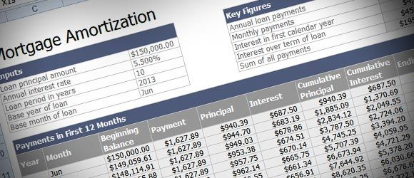 If you need to calculate the Mortgage Loan amortization then this - mortgage calculator template