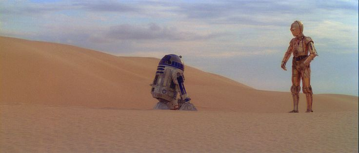 R2d2 And C3po Desert We're doomed! | fotogr...