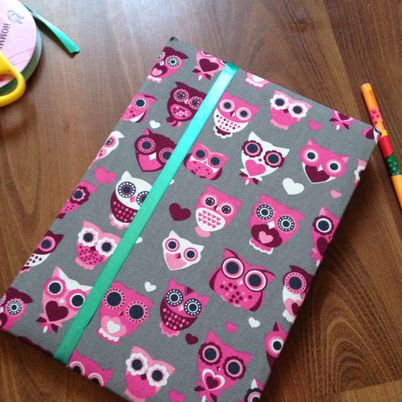 Make a Cute Fabric Agenda Cover