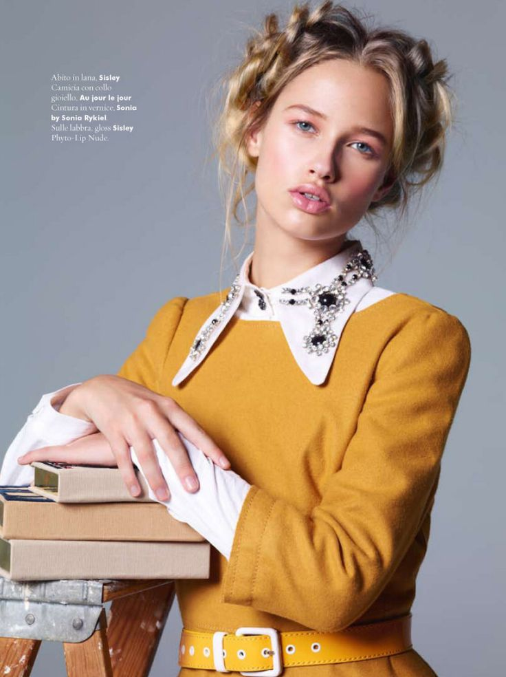 Alexandre Weinberger Takes Us Back to School for A Magazine Italy