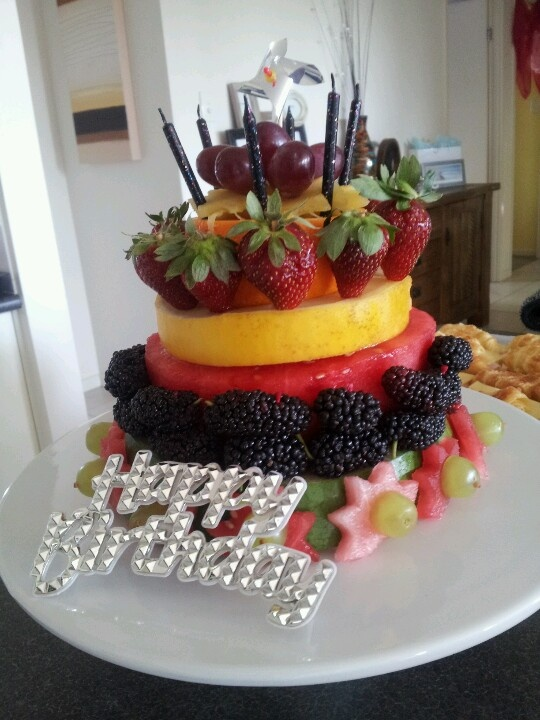 18 best Fresh Fruit Cakes images on Pinterest Fresh fruit cake