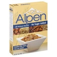 Weetabix Alpen Cereal Organic No Added Sugar (12x14oz)