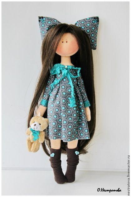 Бьянка. Интерьерная кукла. Handmade. #doll #artdoll