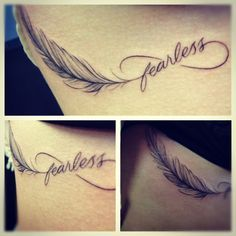 Forever Fearless Tattoo Limitless