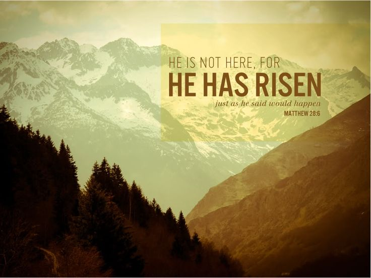 oh, hello friend: you are loved.: He Has Risen:
