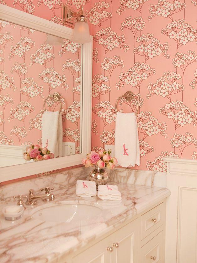Feminine and Elegant Bathroom Designs | Fab DIY | Pinterest