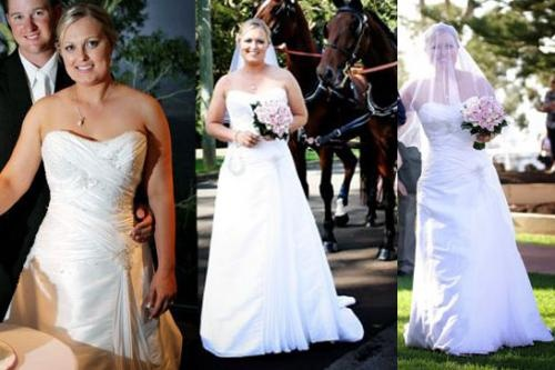 I'm wanting to sell my wedding dress $500