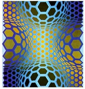 vasarely coloring pages - photo#22