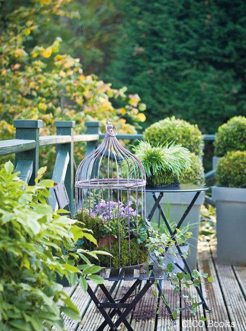 Bird Cage Decorative Planter :)