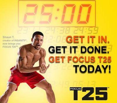 Focus T25 - новая программа Шона Ти для развития выносливости и формирования отличной фигуры атлета.