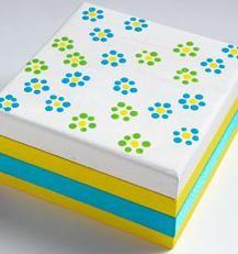 Para guardar tus cosas: Como pintar una caja de madera: http://www.lasmanualidades.com/2007/12/14/para-guardar-tus-cosas