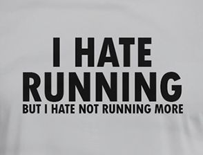 I Hate Running Shirt