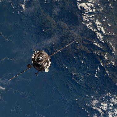 Versorgungsflug ISS
