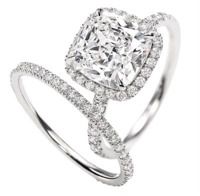 All I want is Cushion cut -- DONE