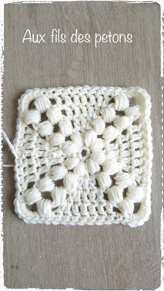 1000 id es sur le th me carr s granny au crochet sur pinterest napperons granny square. Black Bedroom Furniture Sets. Home Design Ideas