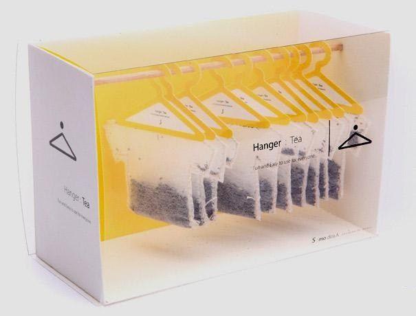 Креативная упаковка Вешалки для чая