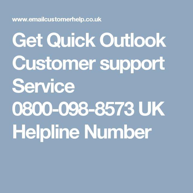Get Quick Outlook Customer support Service 0800-098-8573 UK Helpline Number