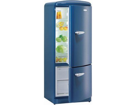 rfrigrateur bleu rfrigrateur gorenje rk 6285 ob bleu pas cher prix - Frigo Bleu