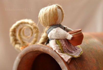 """Народные куклы ручной работы. Ярмарка Мастеров - ручная работа Кукла-оберег """"...горшочек счастья"""".. Handmade."""