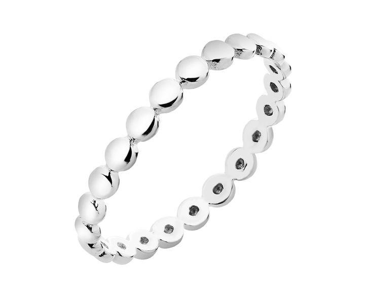Pierścionek srebrny - wzór AP124-7029 / Apart