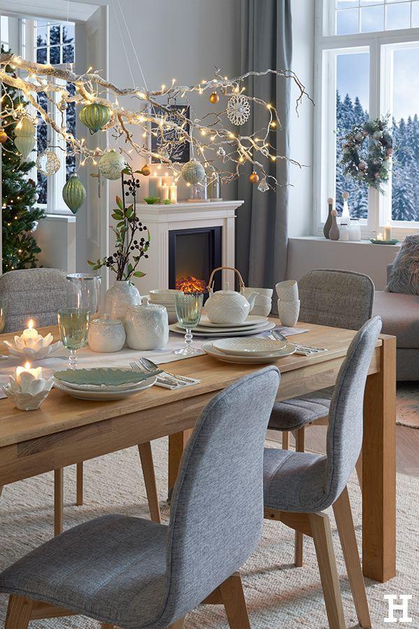 Carpe Diem Gedeckter Tisch Weihnachten Hoffner Mobel Es Ist Aufgetischt Unser Carpediem Wohntrendti In 2020 With Images Home Decor Living Room Table Glass Table Living Room