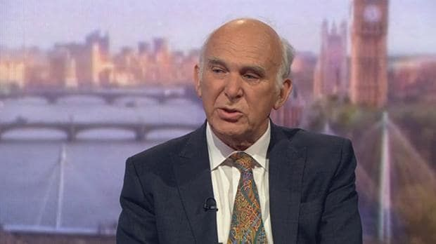 Brexit may never happen, Sir Vince Cable has said as he said he will work with Labour and Tory MPs to block Theresa May's plans for leaving the European Union.