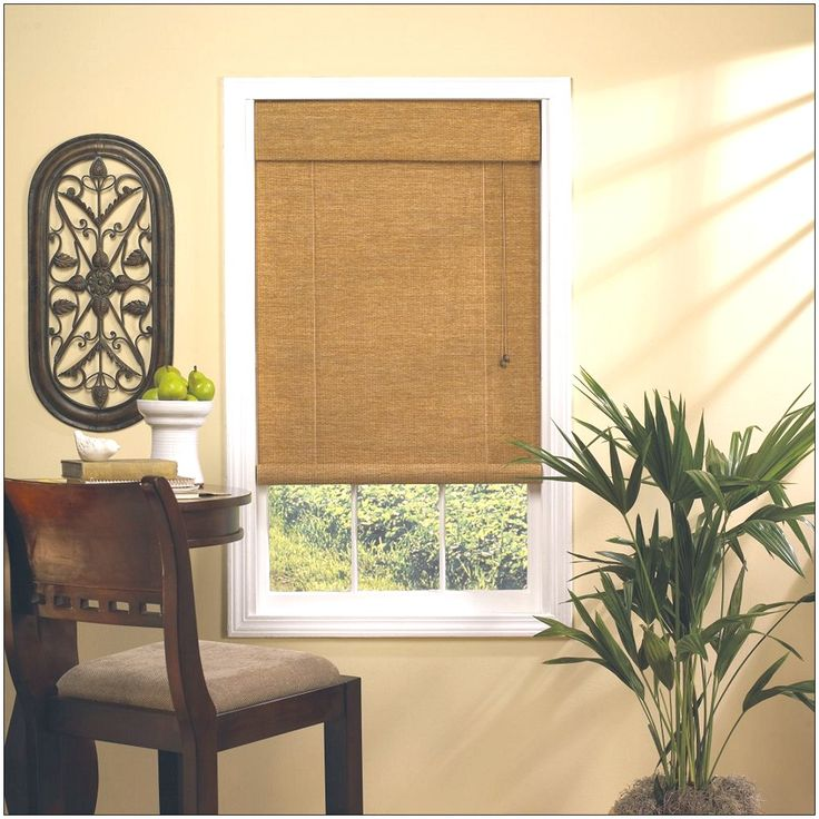 Window treatments ideas bamboo blinds window for Exterior window dressing ideas