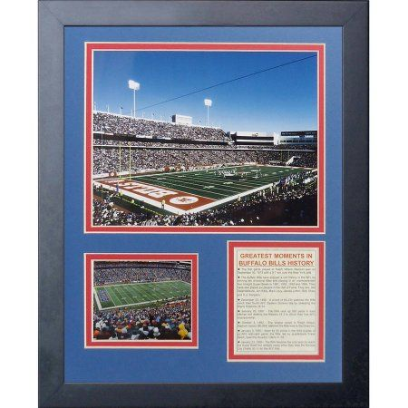 Buffalo Bills Ralph Wilson Stadium Framed Photo Collage, 11x14, by Legends Never Die