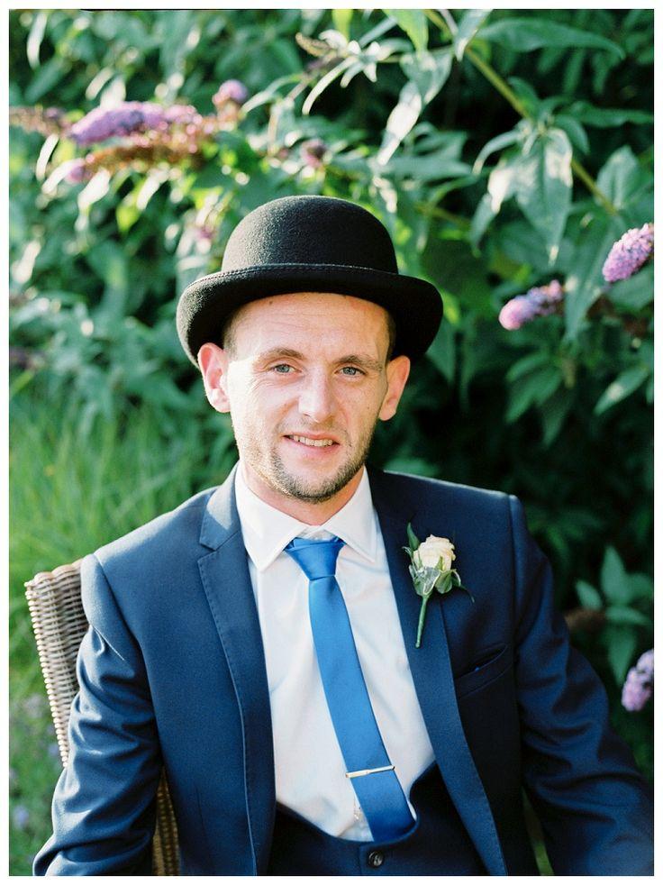 Dapper Groom at Stanley House Hotel & Spa Blackburn Wedding | www.clare-robinson.co.uk