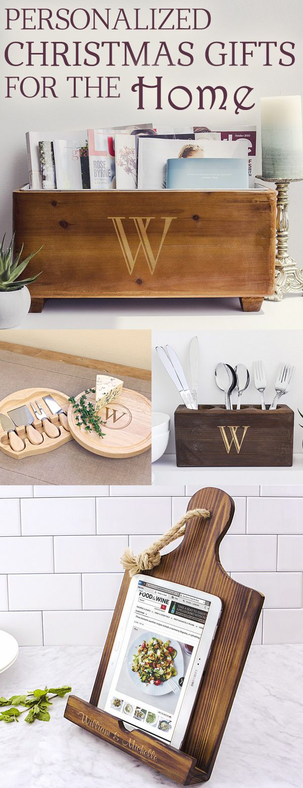 Warm their hearts and their home this Christmas with a personalized gift for the home. Perfect for newlyweds, parents, neighbors, grandparents, and coworkers. Functional gifts like personalized ipad recipe stands, wood trough wine chillers and custom engraved cheese boards are great for entertaining or decoration. These gifts can be ordered at https://myweddingreceptionideas.com/personalized-housewarming-gifts-for-home.asp