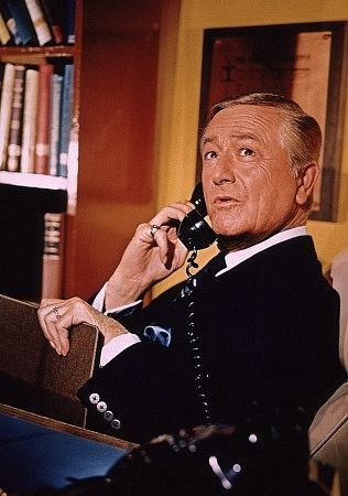 """""""Marcus Welby M.D."""" Robert Young C. 1970 ABC"""