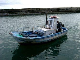 """KATEMBE: """" Primeira de Sines"""" a embarcação do Katembe em Vila Nova de Milfontes"""