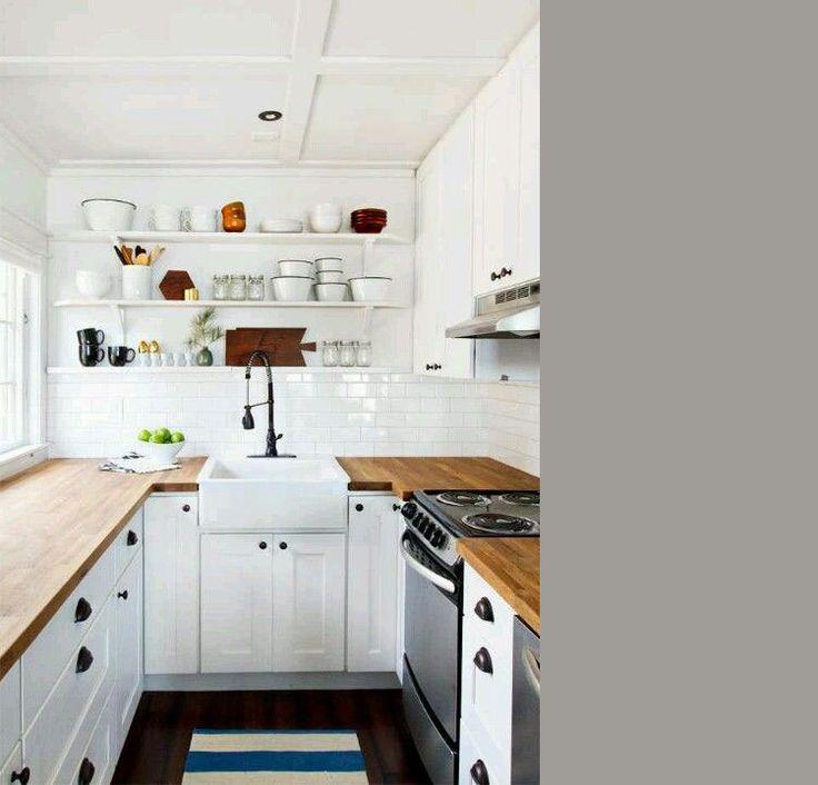 25 beste idee n over kleine keuken oplossingen op pinterest kleine keuken opslag klein - Kleine keuken uitgerust voor studio ...