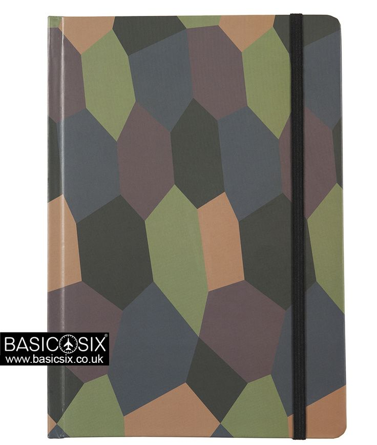 Aviation Notebook by Basic Six - German World War 1 Aviation - Lozenge Pattern Camouflage - A5 Notebook - Perfect For Designing That Aircraft You Always Wanted! Check Them Out Here: www.basicsix.co.uk Aviation Gifts, Designs, Notebooks, Ideas