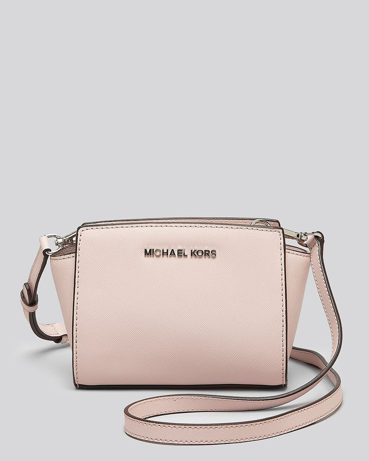 MICHAEL Michael Kors Crossbody - Mini Selma | $178 this one is nice too!! But in a darker color!