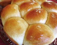 Logans Roadhouse Rolls...Lisa - THESE ARE AMAZING!! If you go to Logans and ever wonder why they are so butter and have a little sweetness to them...it is the butter honey mixture...DO NOT SKIP THAT STEP! I will say I won't make these every week (2 1/2 hour process) but I will make them often and for holidays!