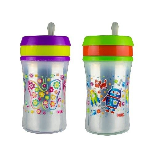 NUK Easy Straw Insulated Cup