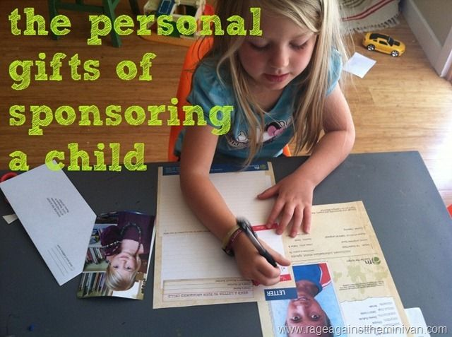It's obvious that an impoverished child benefits from being sponsored. But here are some of the ways my kids benefit from the relationship, too.