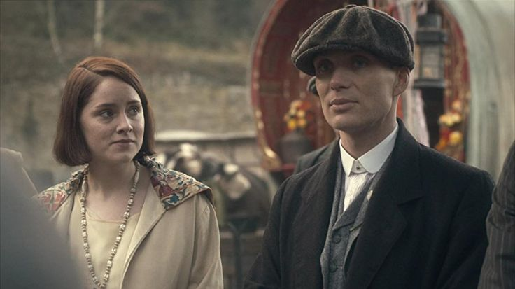 Cillian Murphy and Sophie Rundle in Peaky Blinders (2013)