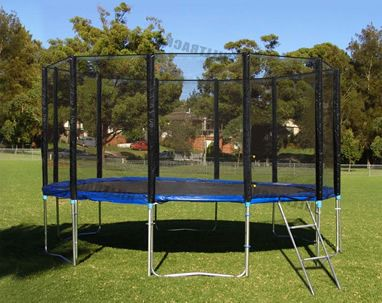 $279.95 10FT Safety Trampoline with Free Anchor Kit