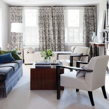 Grey & White Living Room | photo Donna Griffith | design Tara Fingold Interiors | House & Home