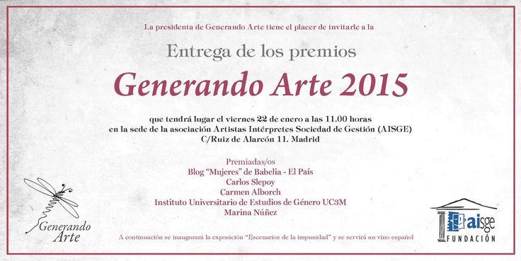 La Denominación de Origen Vinos de Uclés participa en los premios Generando Arte 2015, seguimos trabajando por el arte y la cultura