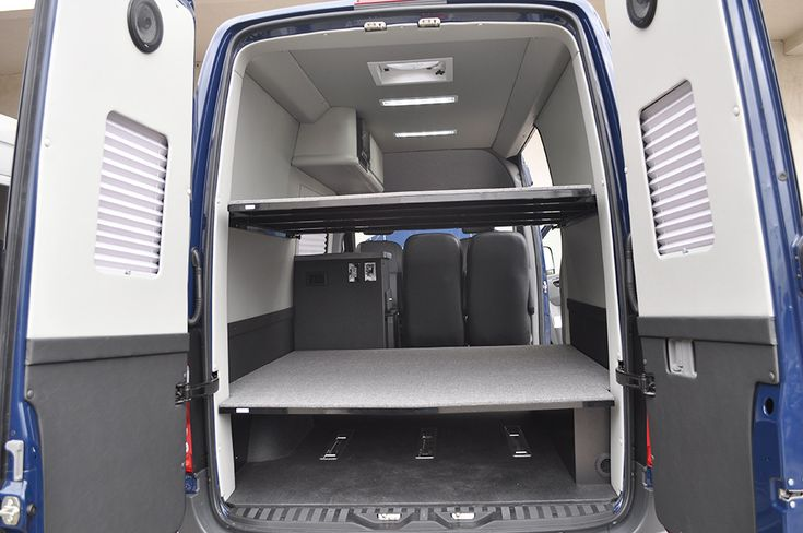 Sprinter Van Bunk Beds >> Bunk beds that double as storage for all of your toys. | Adventure Vans | Pinterest | Camper und ...