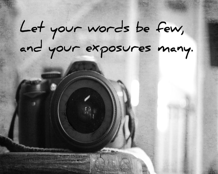 Camera Quote Print Black White Photography Quote Art Home