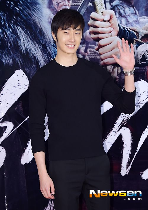 Jung Il Woo Injures His Face at Drama Site Due to Bowstring