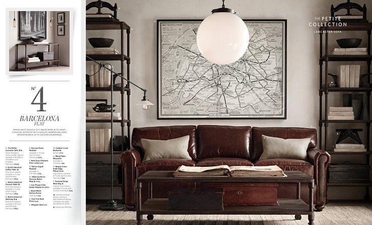 The Intentional Apartment: 67 More Examples of a Masculine Home from the Pages of the Restoration Hardware Catalog - Primer